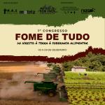 """Congresso """"Fome de Tudo: do direito à terra à soberania alimentar"""""""